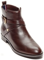 Tommy Hilfiger Crossover Buckle Ankle Boot