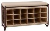 Neu Home 18-Slot Shoe Storage Bench