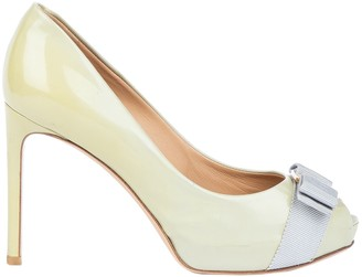 Salvatore Ferragamo Green Patent leather Heels