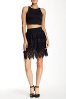 Romeo & Juliet Couture Layered Mini Skirt