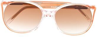 Yves Saint Laurent Pre-Owned 1990s Soft-Square Frame Sunglasses