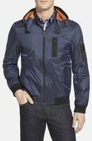 Rainforest Flight Jacket with Detachable Hood
