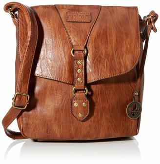 Rieker Women's H1120-22 Shoulder Bag (Antique Nut)