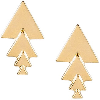Uncommon James by Kristin Cavallari Sun Stud Earrings