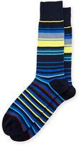Paul Smith Town-Striped Neon Socks