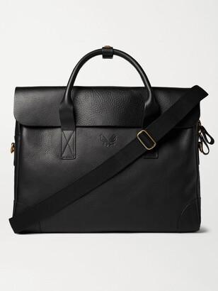 Bennett Winch - Full-Grain Leather Briefcase - Men - Black
