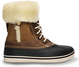 Crocs Hazelnut & Stucco AllCast Luxe Duck Boot - Women