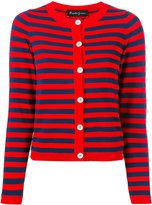 Rossella Jardini - striped buttoned cardigan - women - Polyamide/Viscose - 40
