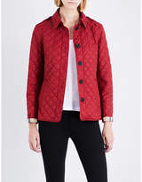 Burberry Ladies Quilted Iconic Ashurst Diamond-Quilted Shell Jacket