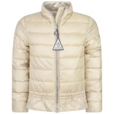 Moncler MonclerGirls Beige Down Padded Anemone Jacket