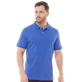 Crew Clothing Mens Melbury Polo Cobalt