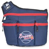Diaper Dude MLB Atlanta Braves Messenger Diaper Bag in Navy