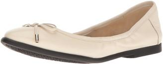 Nine West Women's Quinney Leather Ballet Flat