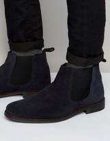 Lambretta Chelsea Boots In Navy