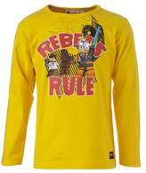 Lego Wear Star Wars TRISTAN 652 Boys' Long-Sleeved Shirt - Yellow