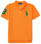 Ralph Lauren Boys 2-7 Embroidered Cotton Polo