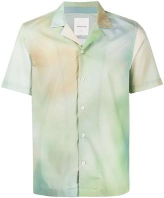 Wood Wood Tie-Dye Print Shortsleeved Shirt