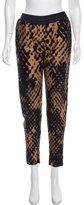 3.1 Phillip Lim Printed High-Rise Skinny-Leg Pants