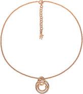 Folli Follie Bonds rose gold-plated necklace