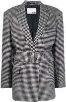 Each X Other checked oversized blazer