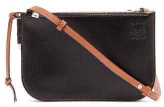 Loewe Gate Leather Cross-body Bag - Black Multi