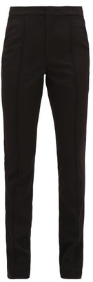 Isabel Marant Annabelle Wool-twill Trousers - Womens - Black
