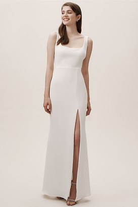 BHLDN Adena Dress By in White Size 22