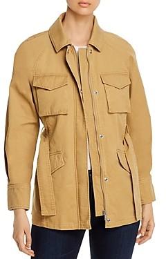Bagatelle Belted Cotton Utility Jacket