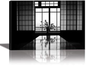 Eurographics Shibui Art of Decoration Framed Canvas Wall Art