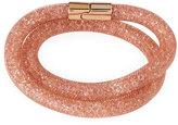 Swarovski Stardust Convertible Crystal Mesh Bracelet/Choker, Pink, Medium