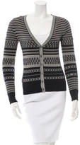 Derek Lam Patterned Silk Cardigan