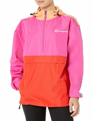 Champion Women's Packable Jacket-Color Blocked