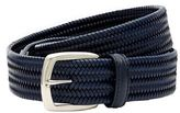 Canali Plaited Leather Belt