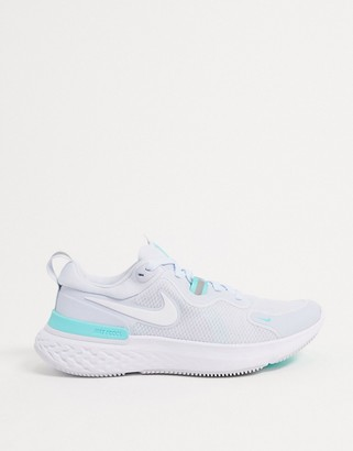 Nike Running React Miler trainers in blue