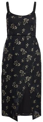 Black Iris The Lady Effie Floral Dress