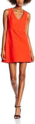 New Look Women's Bonded Crepe Knee-Length A-Line Sleeveless Dress