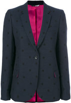 Paul Smith polka dot blazer - women - Cotton/Acrylic/Nylon/Viscose - 38