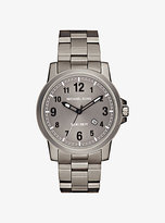 Michael Kors Paxton Gunmetal-Tone Watch