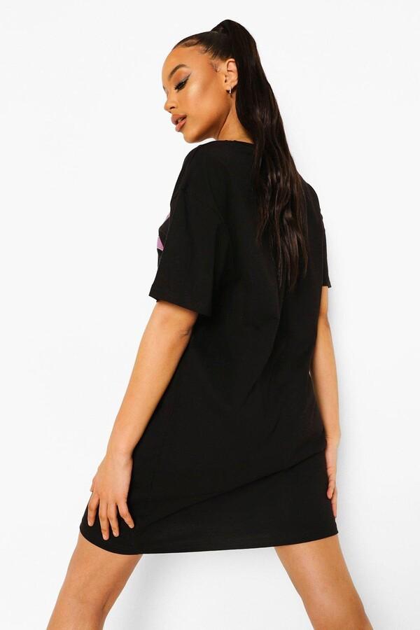 Thumbnail for your product : boohoo Bratz License Print T-shirt Dress