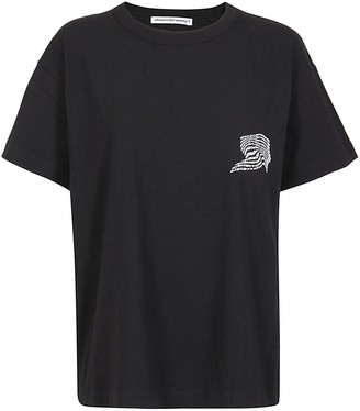Alexander Wang Warped Logo T-shirt