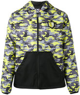 Plein Sport - camouflage print sports jacket - men - Nylon - M