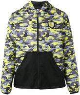 Plein Sport camouflage print sports jacket