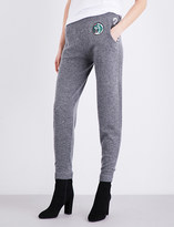 Burberry Rivertaro high-rise wool and cashmere-blend jogging bottoms