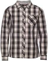 Bench Boys Long Sleeve Check Shirt Black