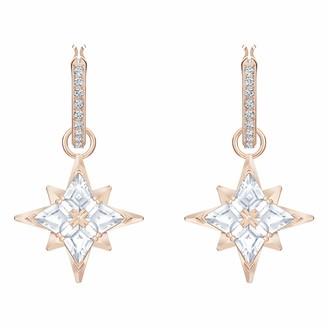 Swarovski Women's Symbolic Stud Pierced Hoop Earrings