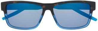 Puma Contrast Square-Frame Sunglasses