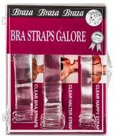 Braza Bra Straps Galore - 3pk - Clear