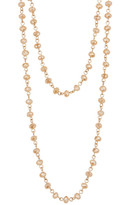 """Natasha Accessories Faceted Beaded 60"""" Necklace"""