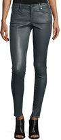 AG Jeans Skinny Leather Leggings, Sheer Gray