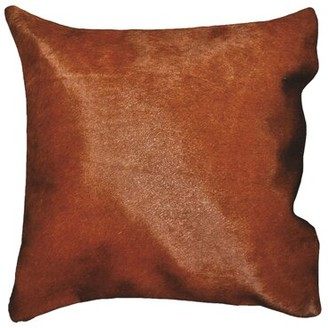 Foundry Select Trott Square Leather Pillow Cover & Insert